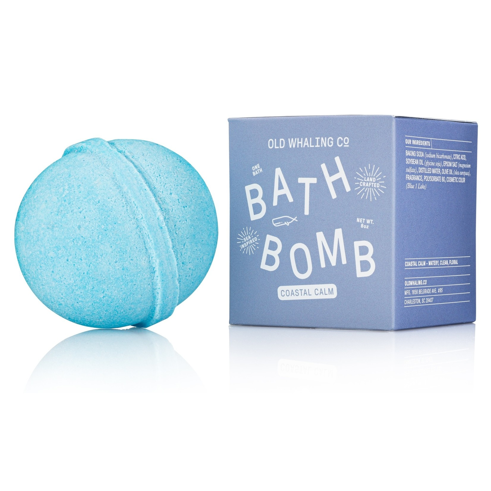 Old Whaling Company Old Whaling Company Bath Bomb Coastal Calm