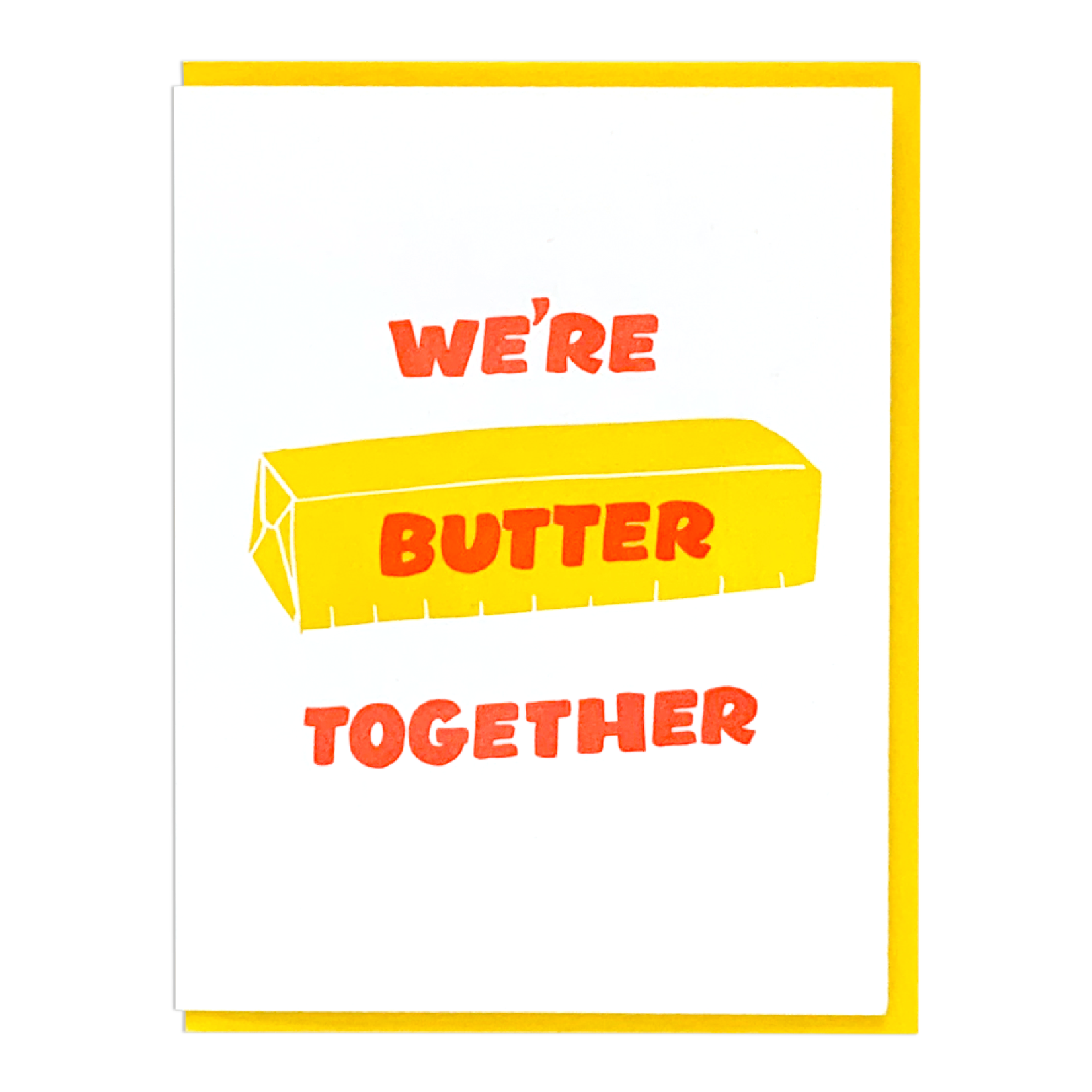 And Here We Are And Here We Are Butter Together