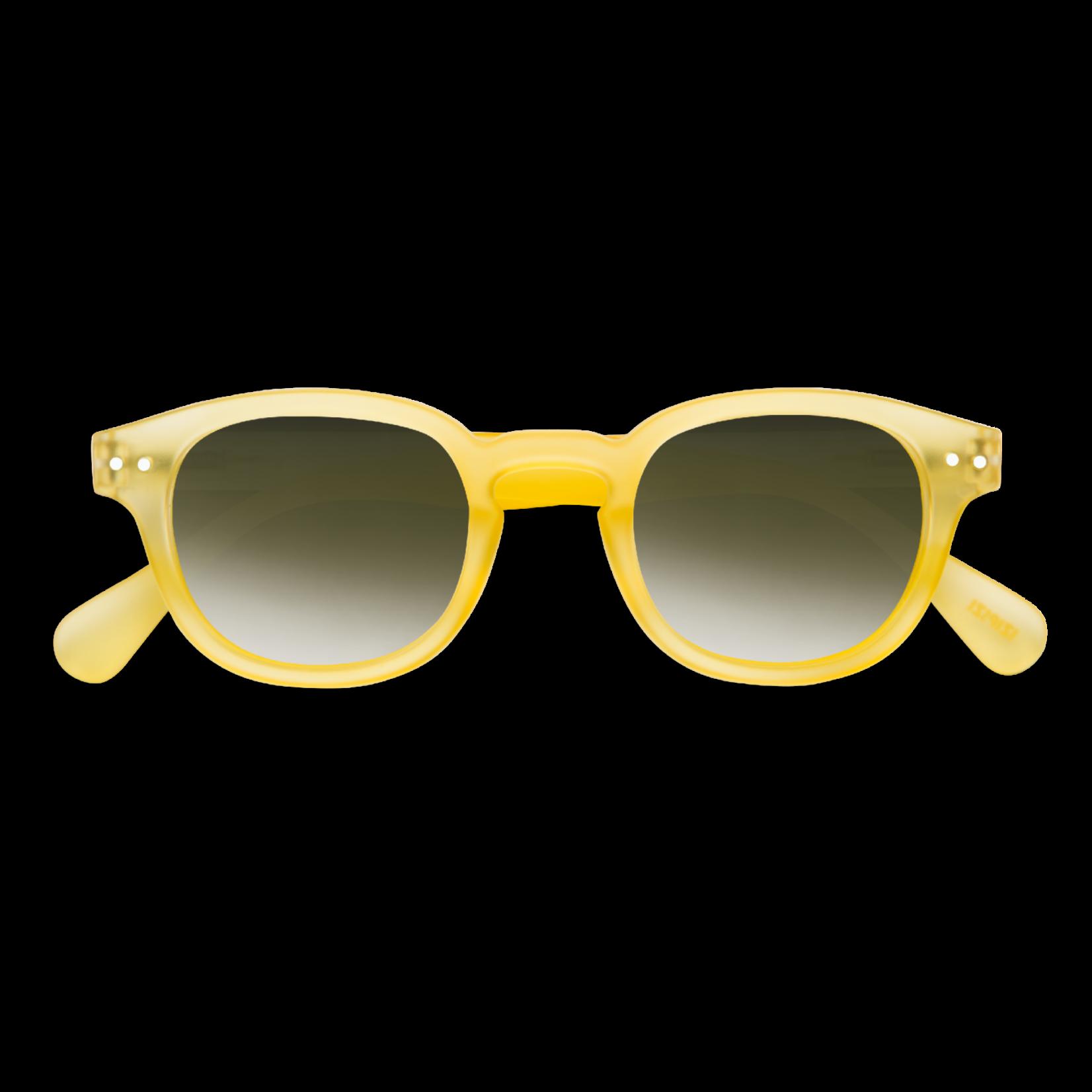 IZIPIZI IZIPIZI Sun C Retro Yellow Crystal