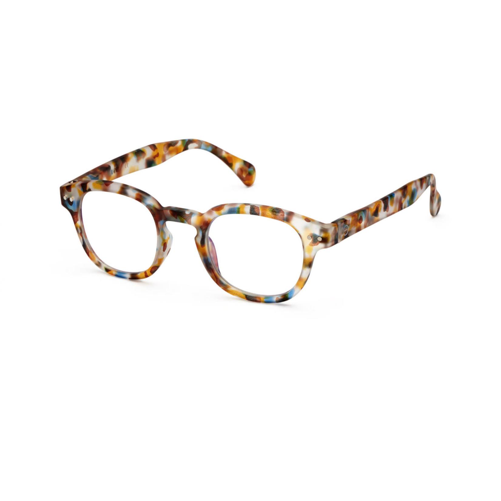 IZIPIZI Izipizi Screen Glasses C Retro  Blue Tortoise