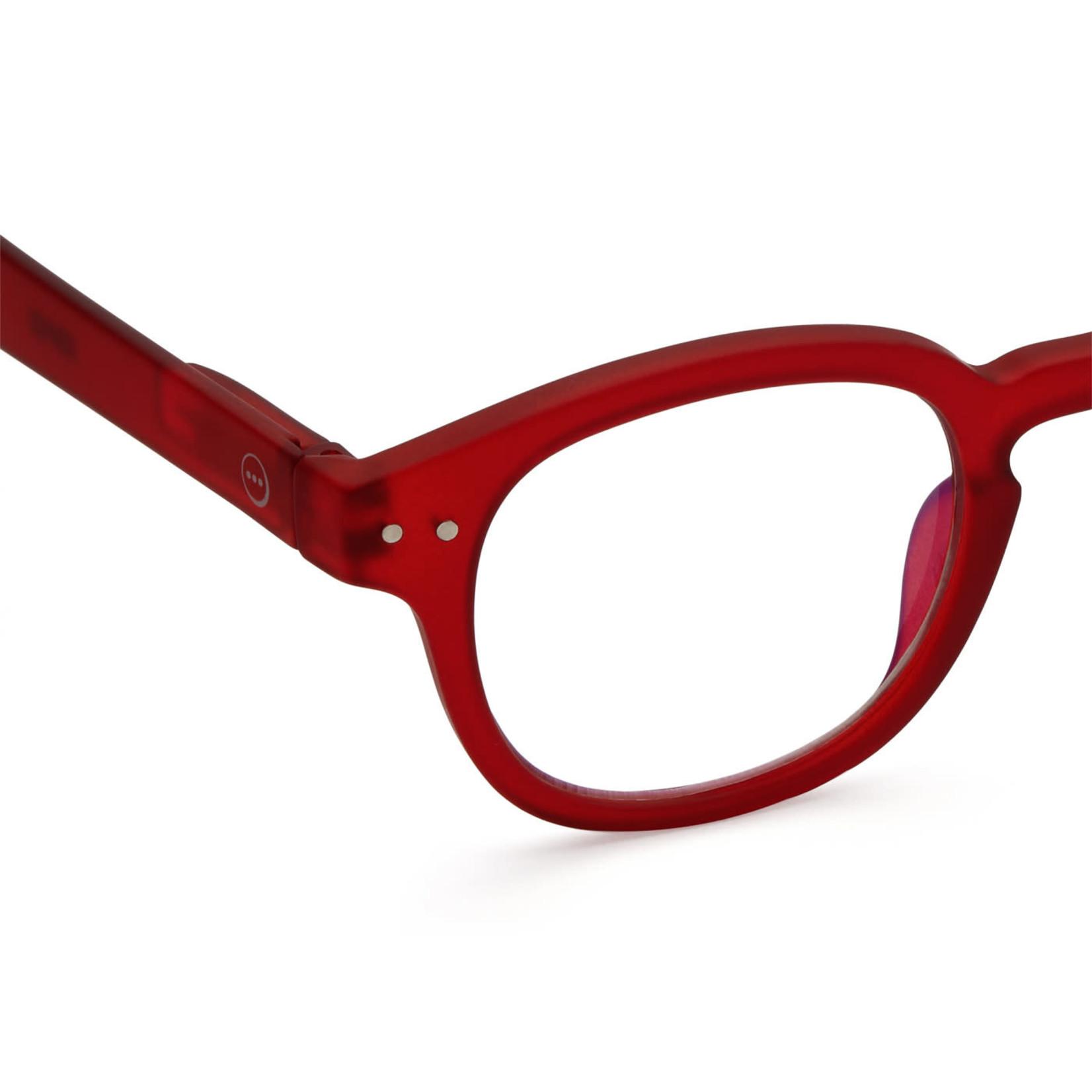 IZIPIZI Izipizi Screen Glasses C Retro  Red
