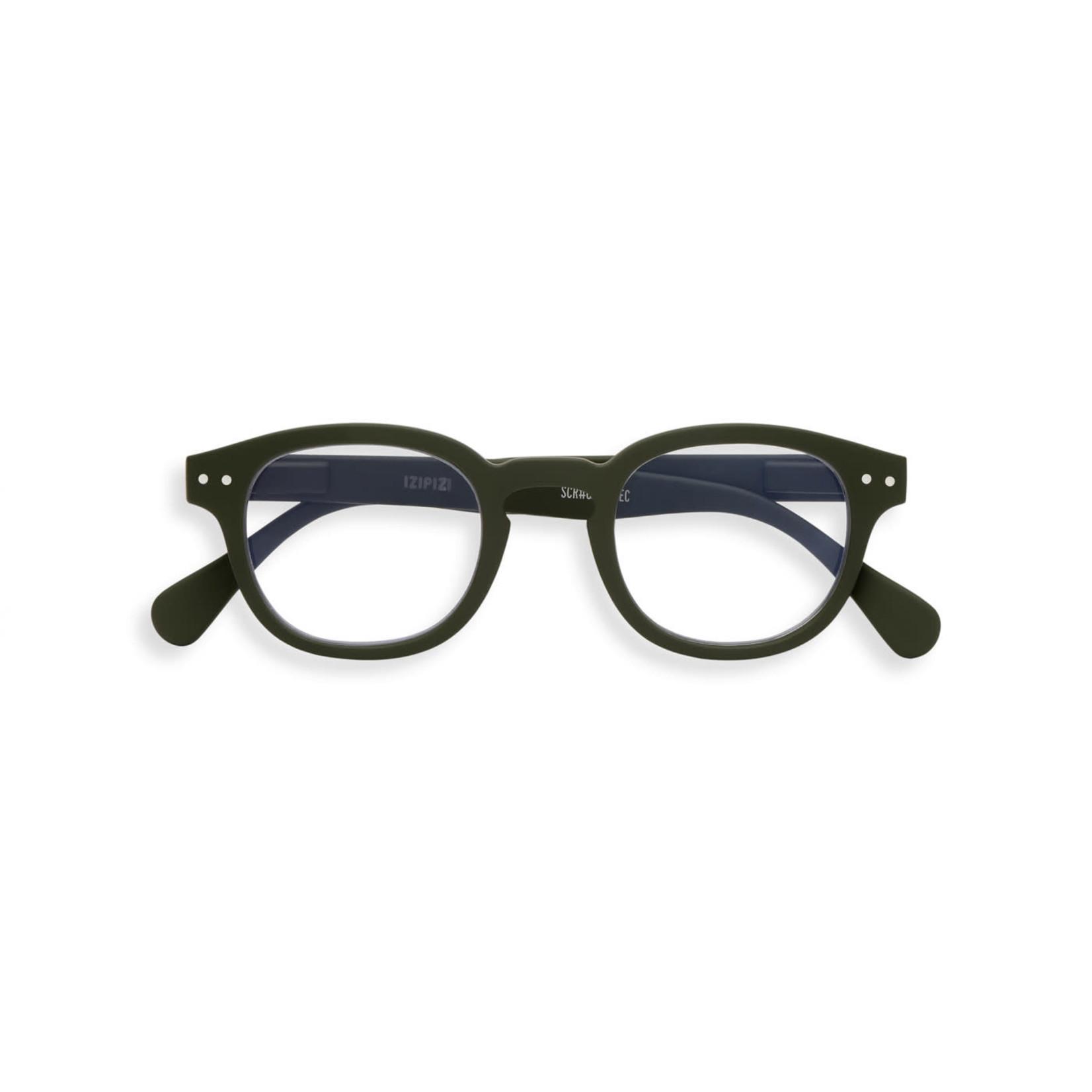 IZIPIZI Izipizi Screen Glasses C Retro  Khaki Green