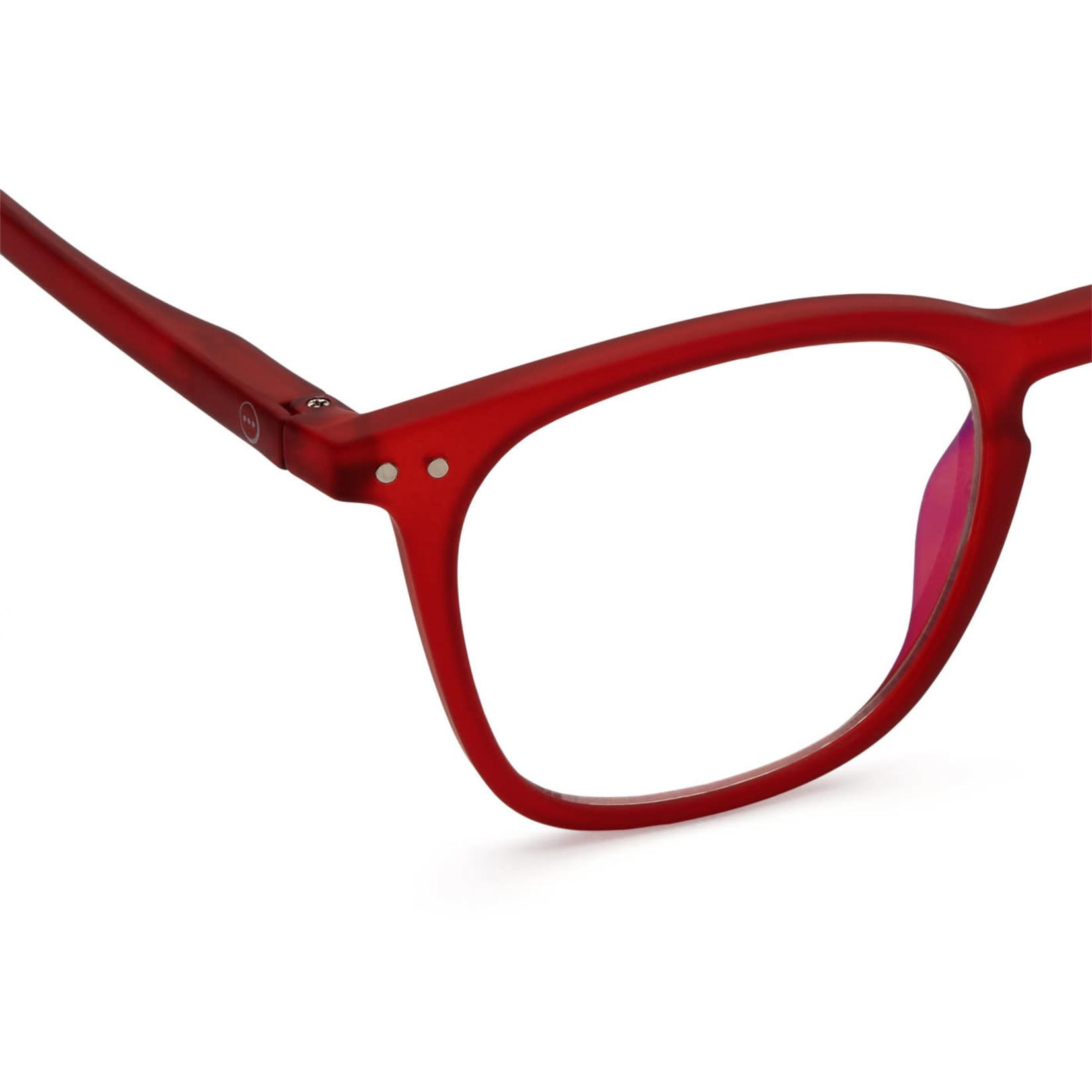 IZIPIZI Izipizi Screen Glasses E Wayfarer Red