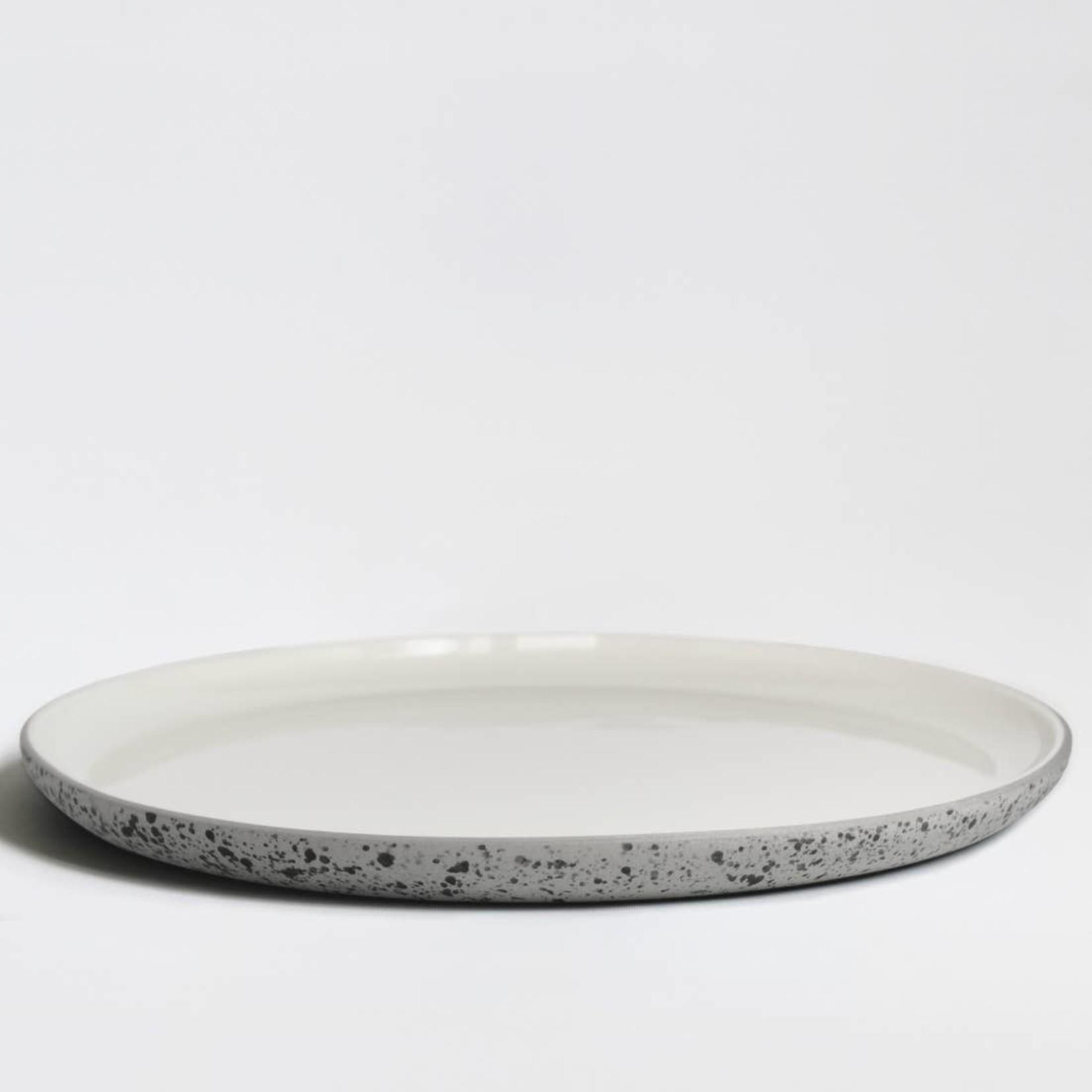 "Archive Studio Archive Studio Handmade Plate 10"" Speckled"
