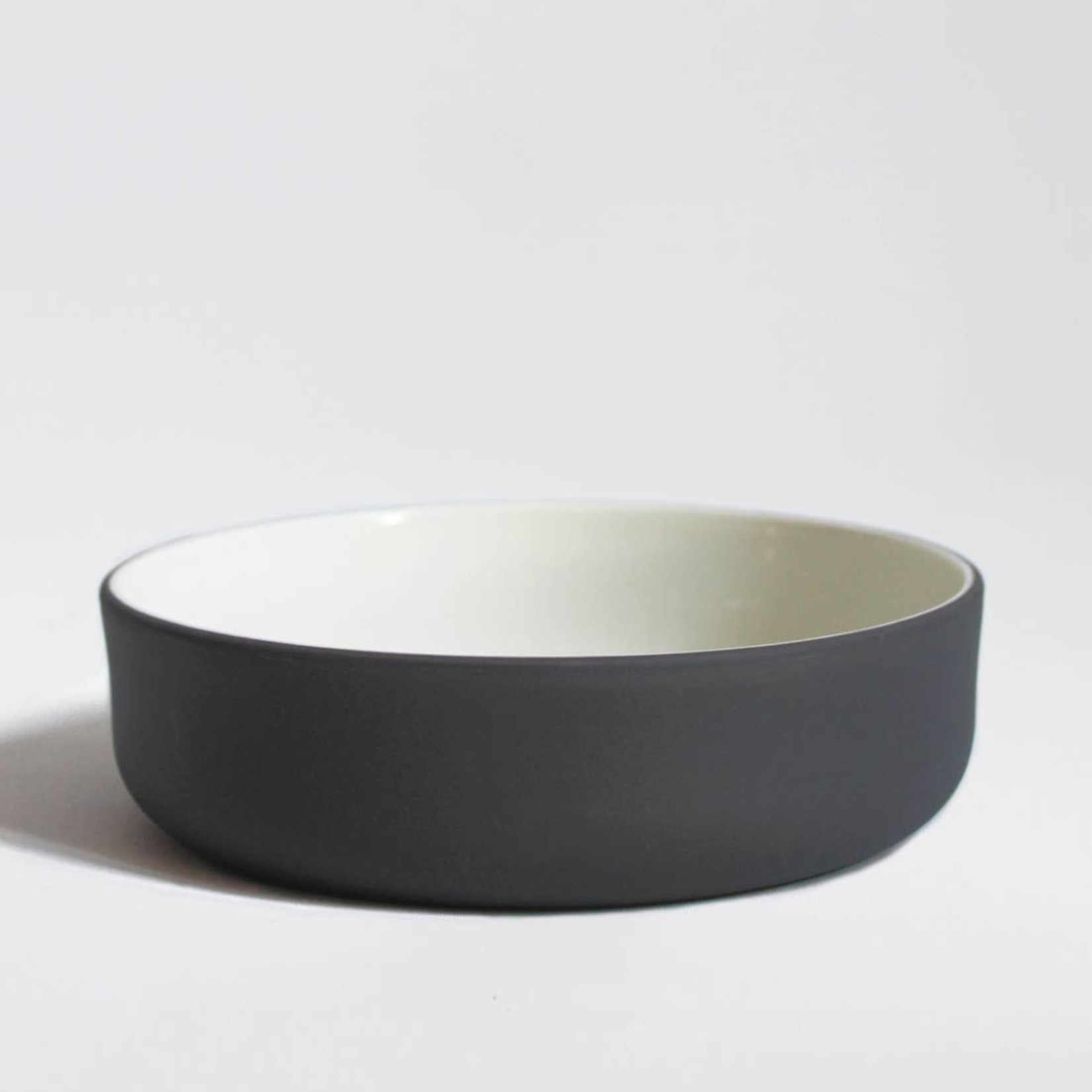 """Archive Studio Archive Studio Handmade 6"""" Bowl Dark Grey"""