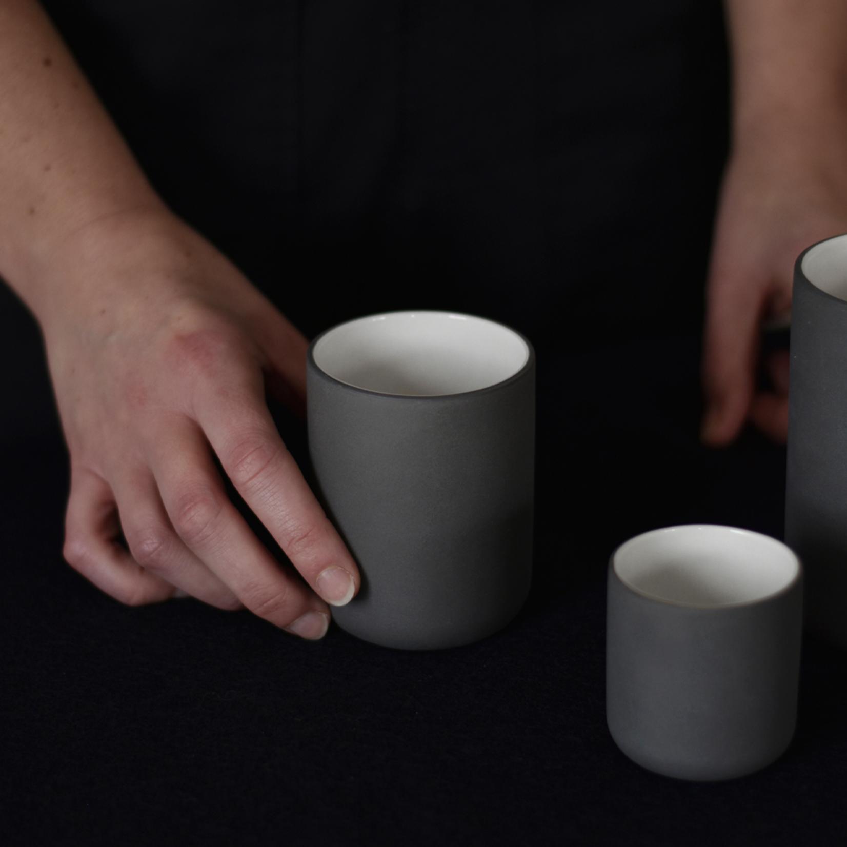 Archive Studio Archive Studio Handmade Coffee Cup Dark Grey