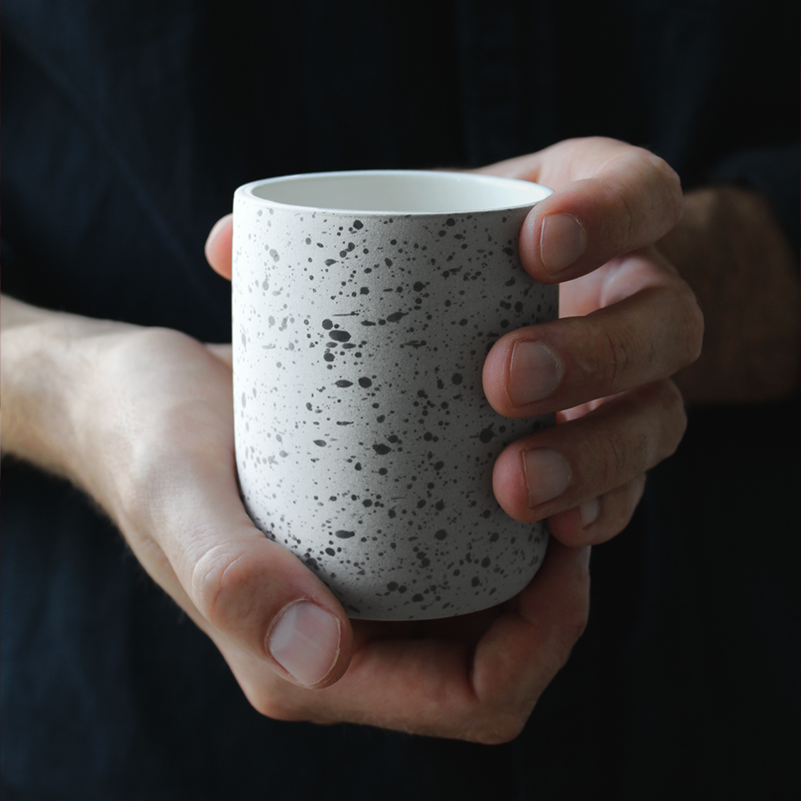 Archive Studio Archive Studio Handmade Coffee Cup Speckled