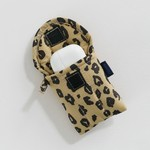 Baggu Baggu Puffy Earbuds Case Honey Leopard