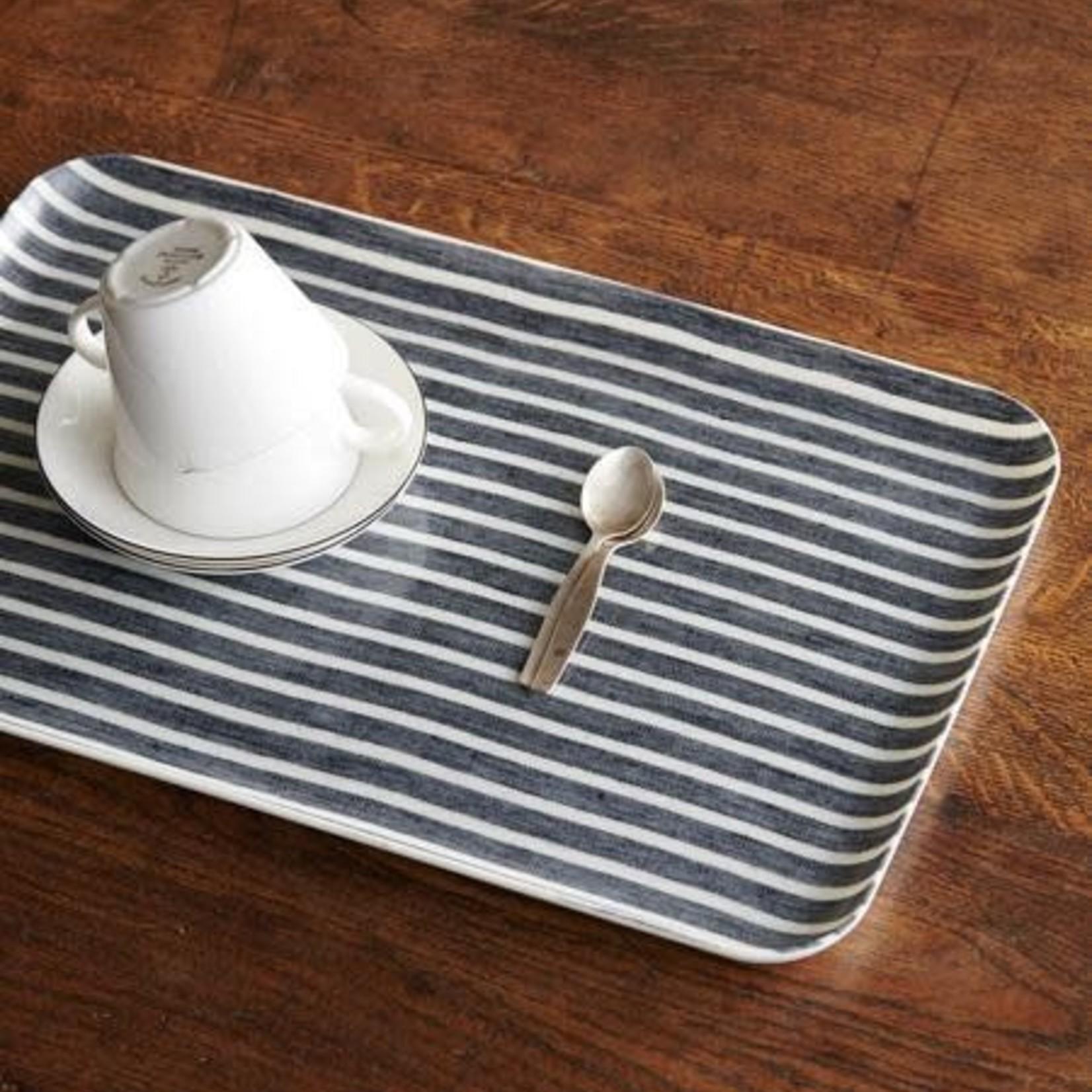 Fog Linen Fog Linen Linen Coated Tray Large Jack