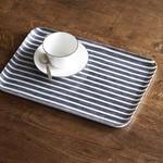 Fog Linen Fog Linen Linen Coated Tray Medium Jack