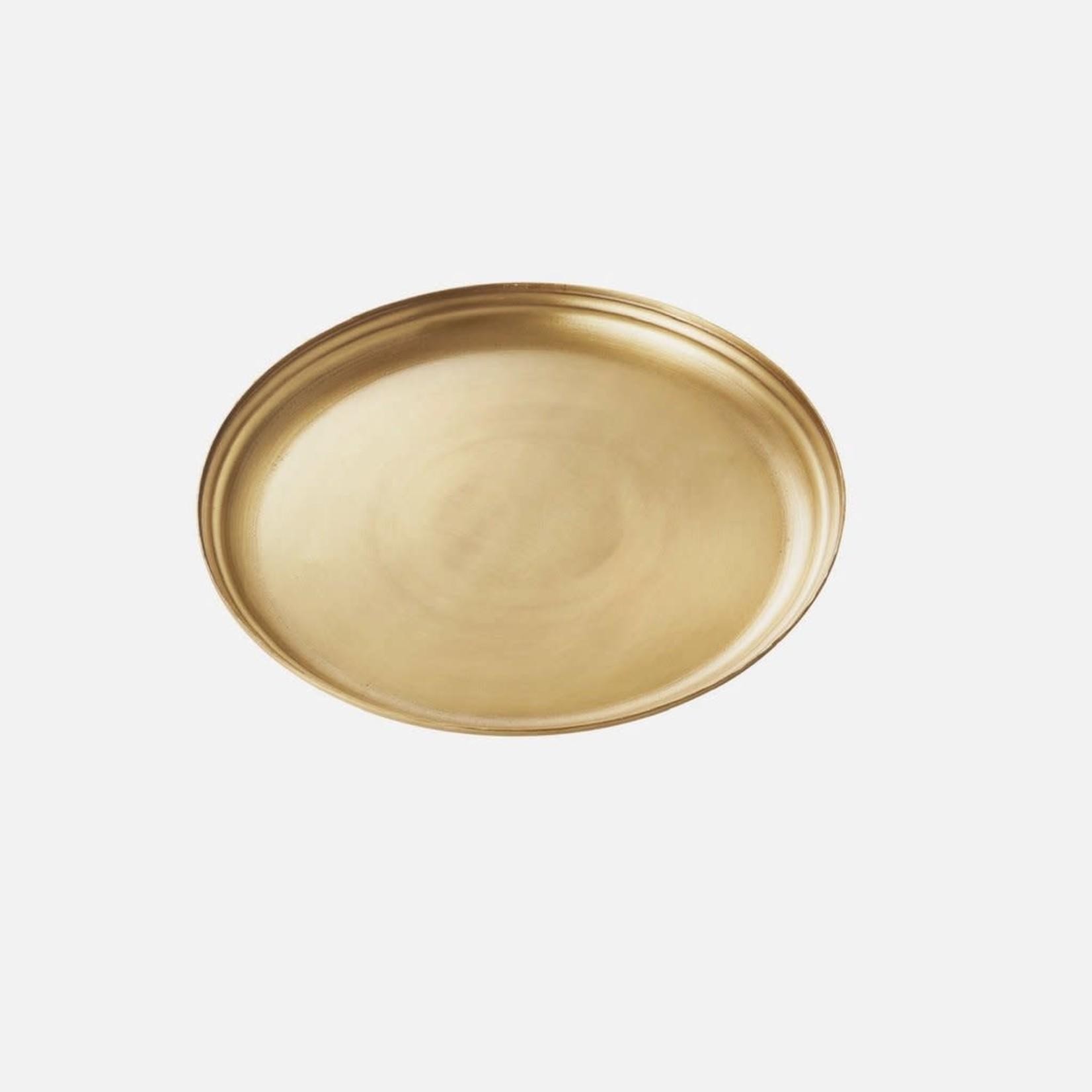 Fog Linen Fog Linen Brass Serving Tray Medium