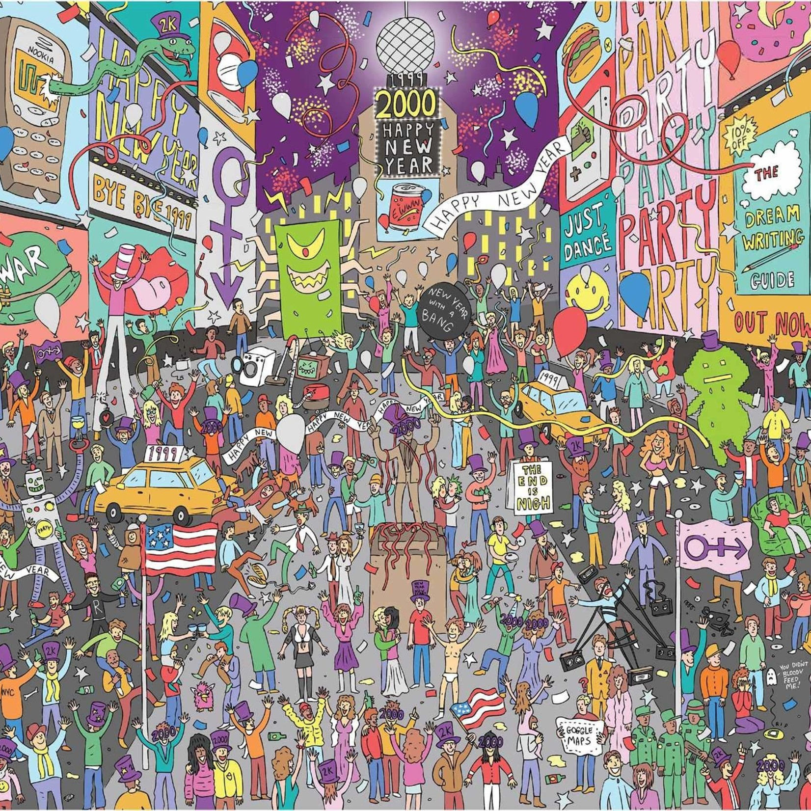 Rizzoli 500 Piece Where's Prince? in 1999 Jigsaw Puzzle