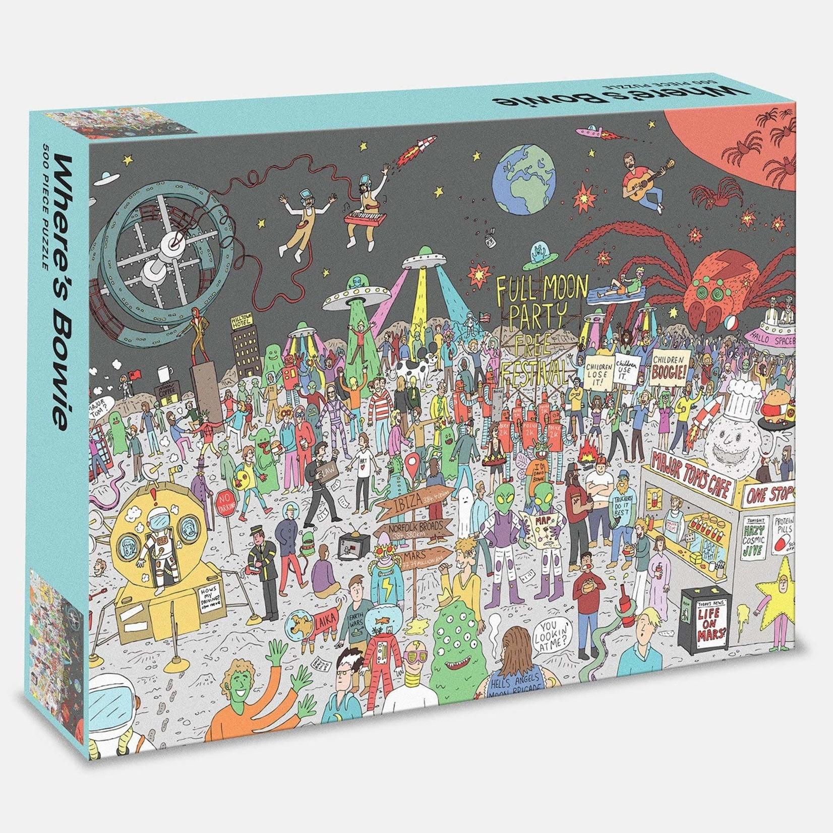 Rizzoli 500 Piece Where's Bowie? Jigsaw Puzzle