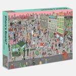Rizzoli Smith Street Books Where's Bowie? In Berlin 500 Piece Jigsaw Puzzle