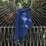 Slate + Salt Slate + Salt Waffle Weave Turkish Towel  Royal Blue