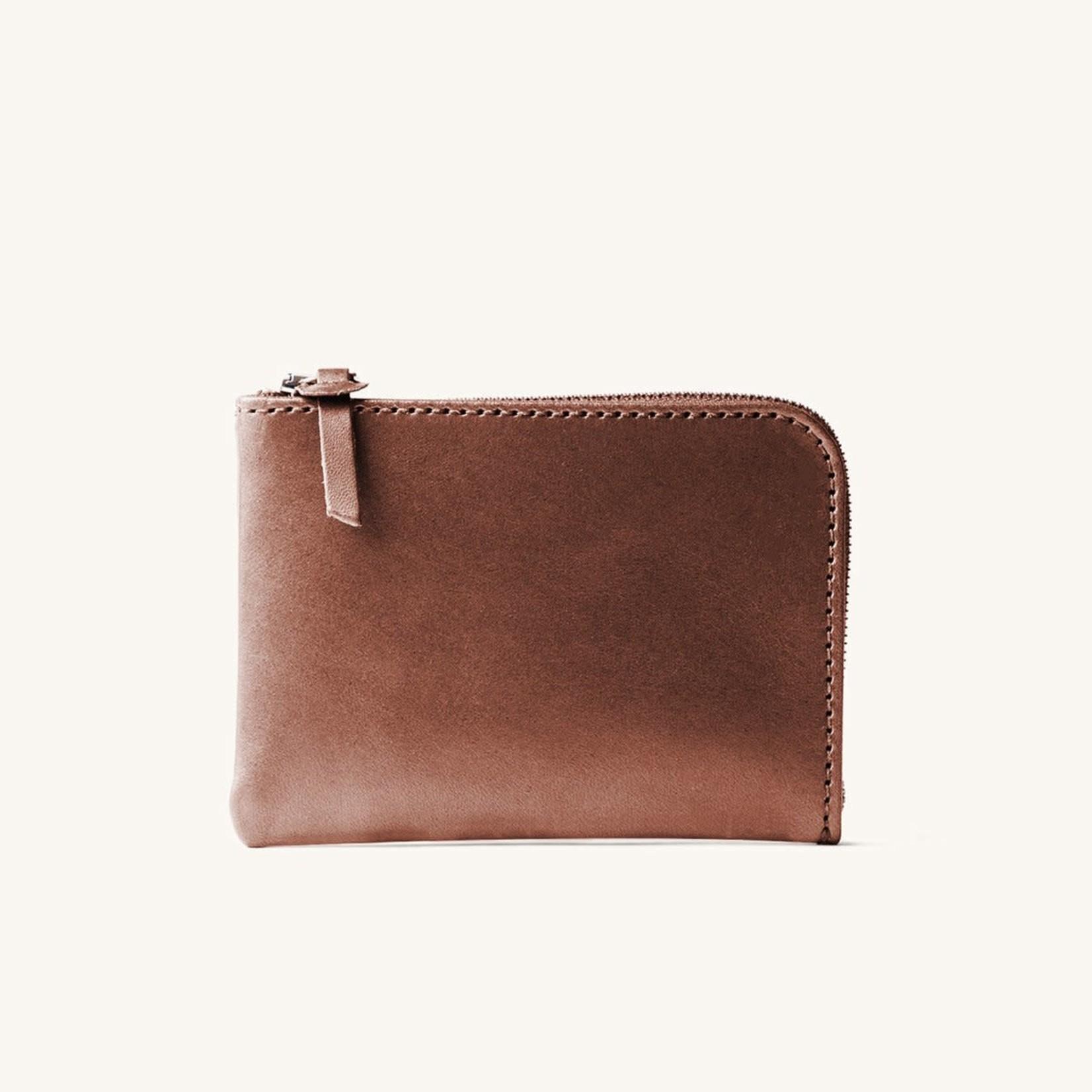 Tanner Goods Tanner Goods  Universal Zip Wallet Cognac