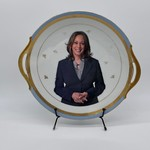 Camp Mercantile Camp Mercantile Kamala Harris Plate Special Edition