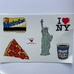 Meg Kelly Meg Kelly Sticker Sheet New York Icons