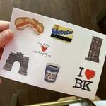 Meg Kelly Meg Kelly Sticker Sheet Brooklyn Icons