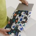 "Baggu Baggu Puffy Laptop Sleeve  Litho Floral 16"""