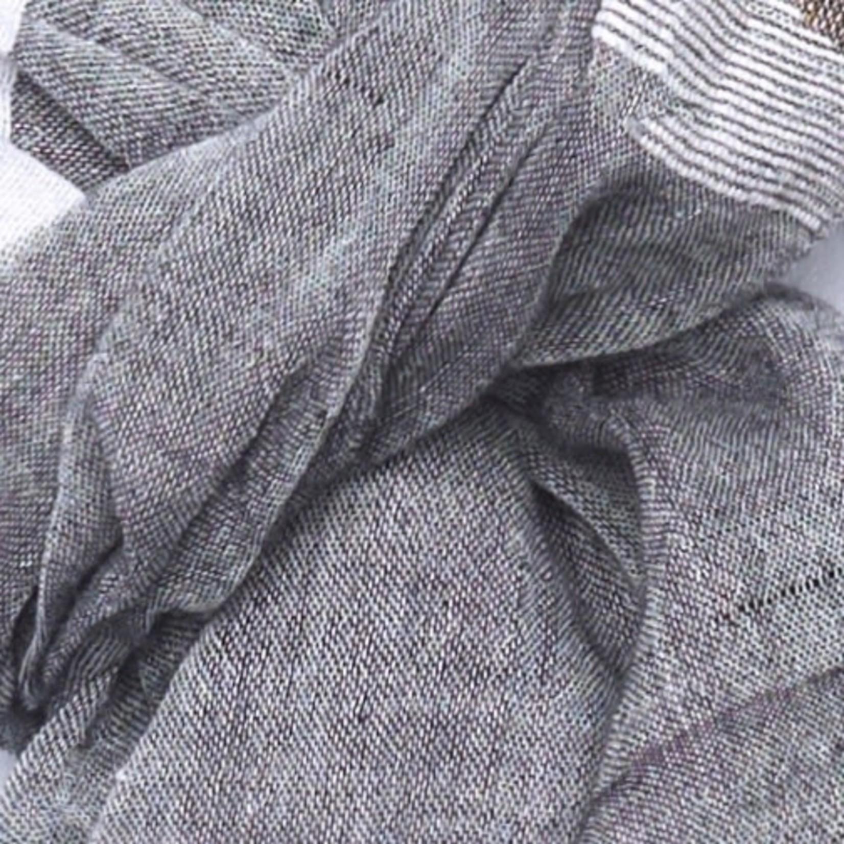 Indigo Handloom Indigo Handloom Scarf Spark Grey