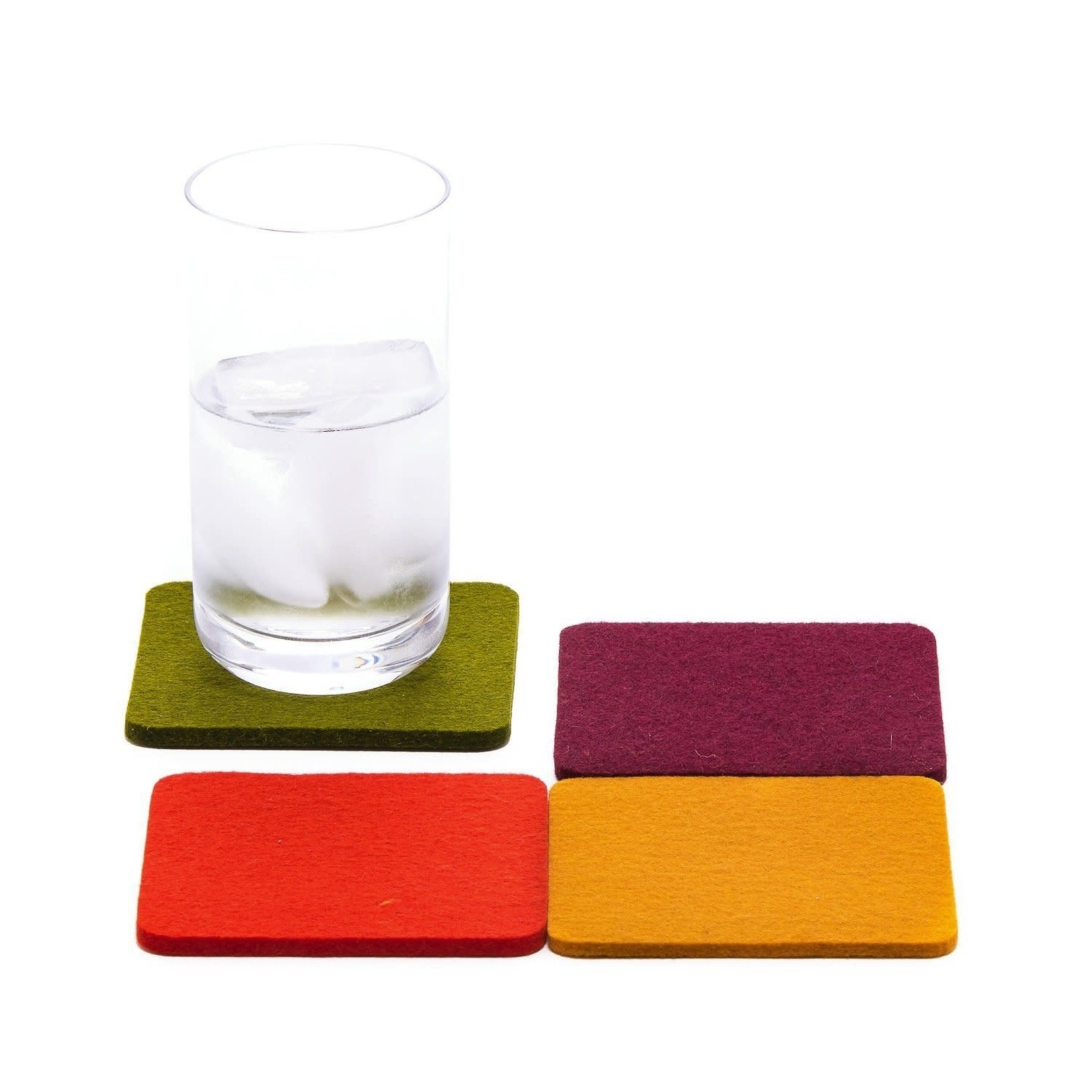 Graf & Lantz Graf & Lantz Coaster square 4 pack Spice