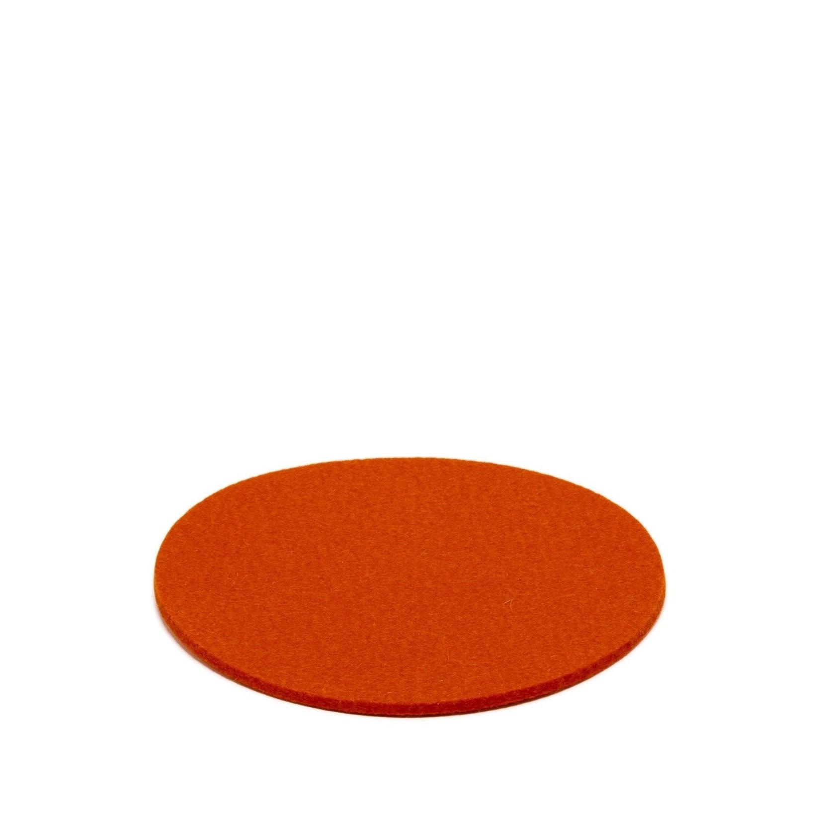 """Graf & Lantz Graf & Lantz Trivet Round 8"""" Orange"""