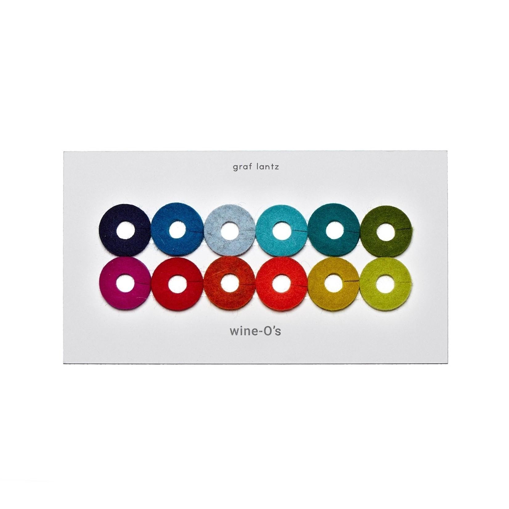 Graf & Lantz Graf & Lantz Wine-O's Mix 12pc Rainbow