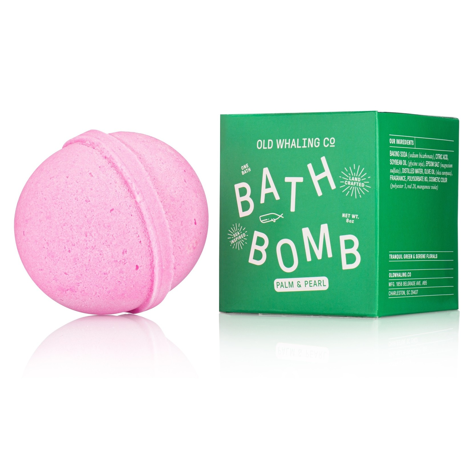 Old Whaling Company Old Whaling Company Bath Bomb Palm & Pearl
