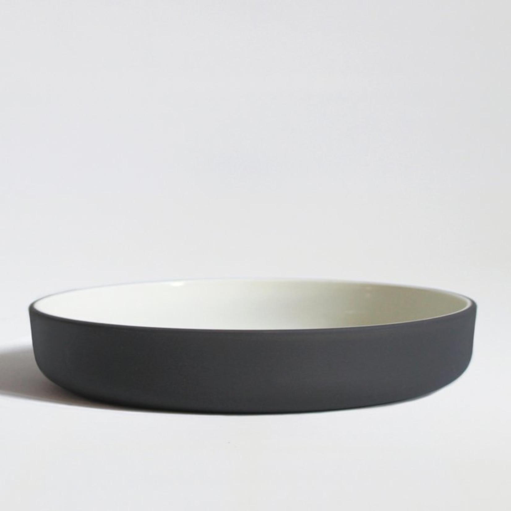 """Archive Studio Archive Studio Handmade 9"""" Bowl Dark Grey"""