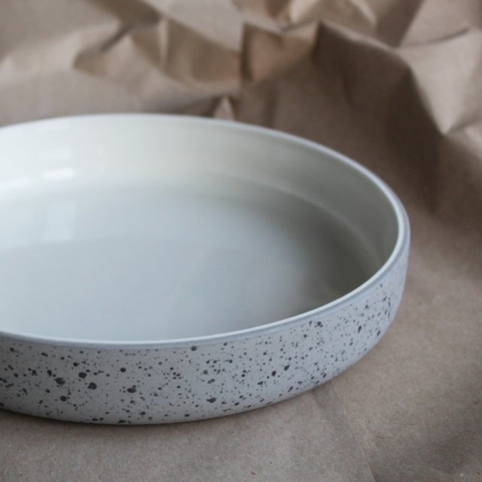 "Archive Studio Archive Studio Handmade 9"" Bowl Speckled"
