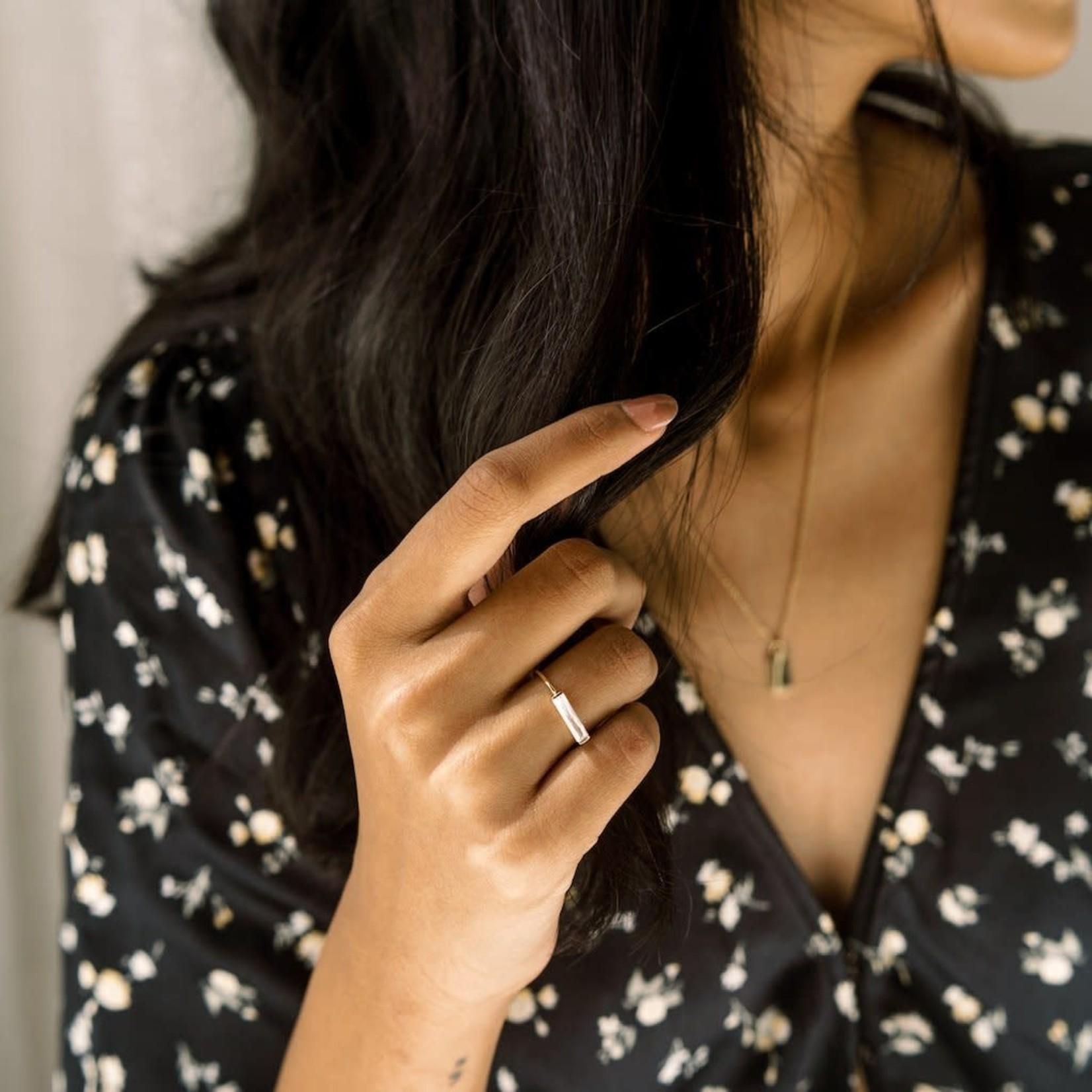 Honeycat Jewelry Honeycat Lorena Baguette Ring