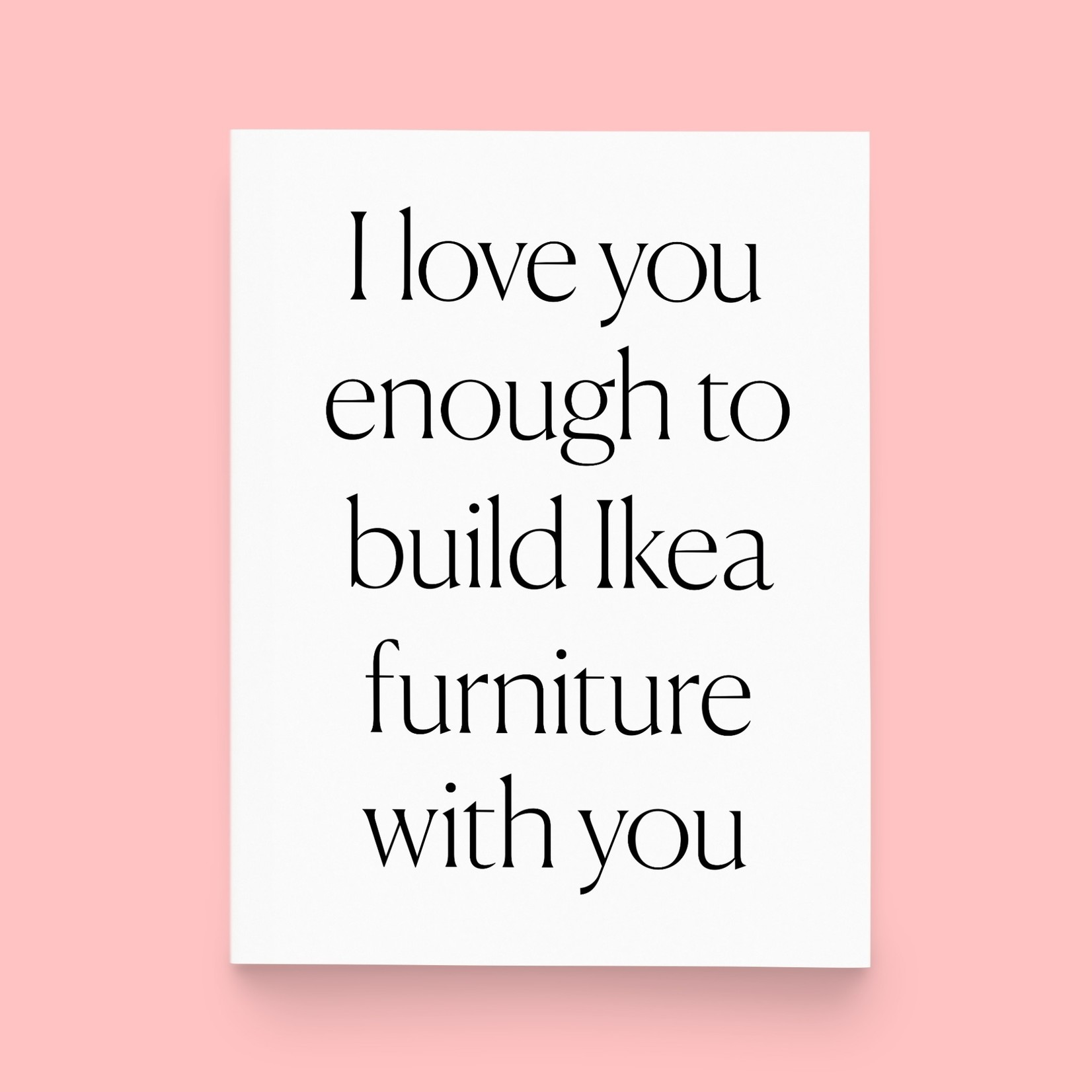 Paper & Stuff Paper & Stuff Build Ikea with You