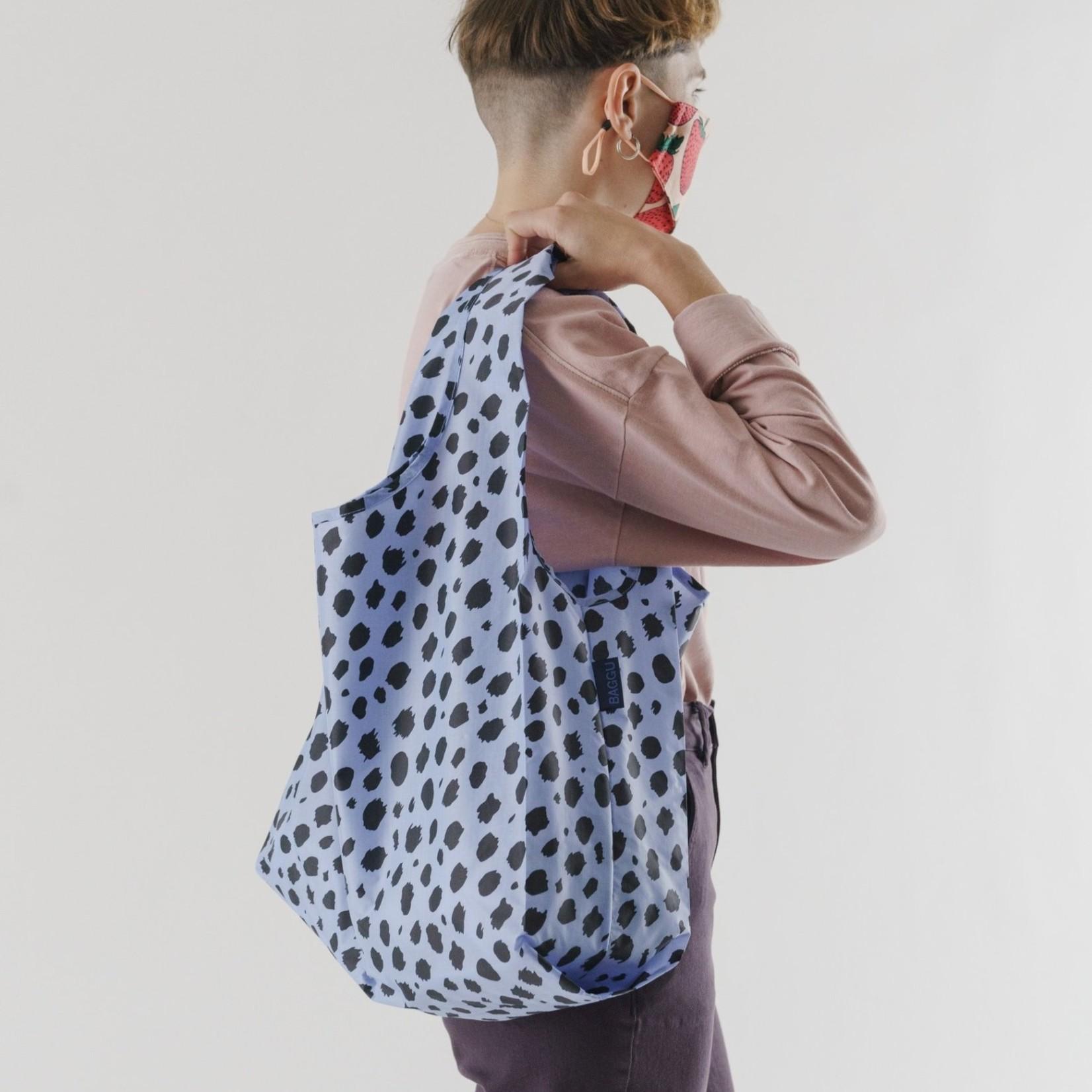 Baggu Baggu Reusable Bag Standard - Animal Cheetah-Blue