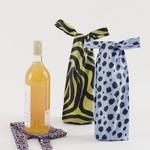 Baggu Baggu Reusable Wine Set of 3 Animal Print