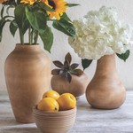 Be Home Be Home Mango Wood Classic Vase