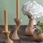 Be Home Be Home Mango Wood Bulb Vase