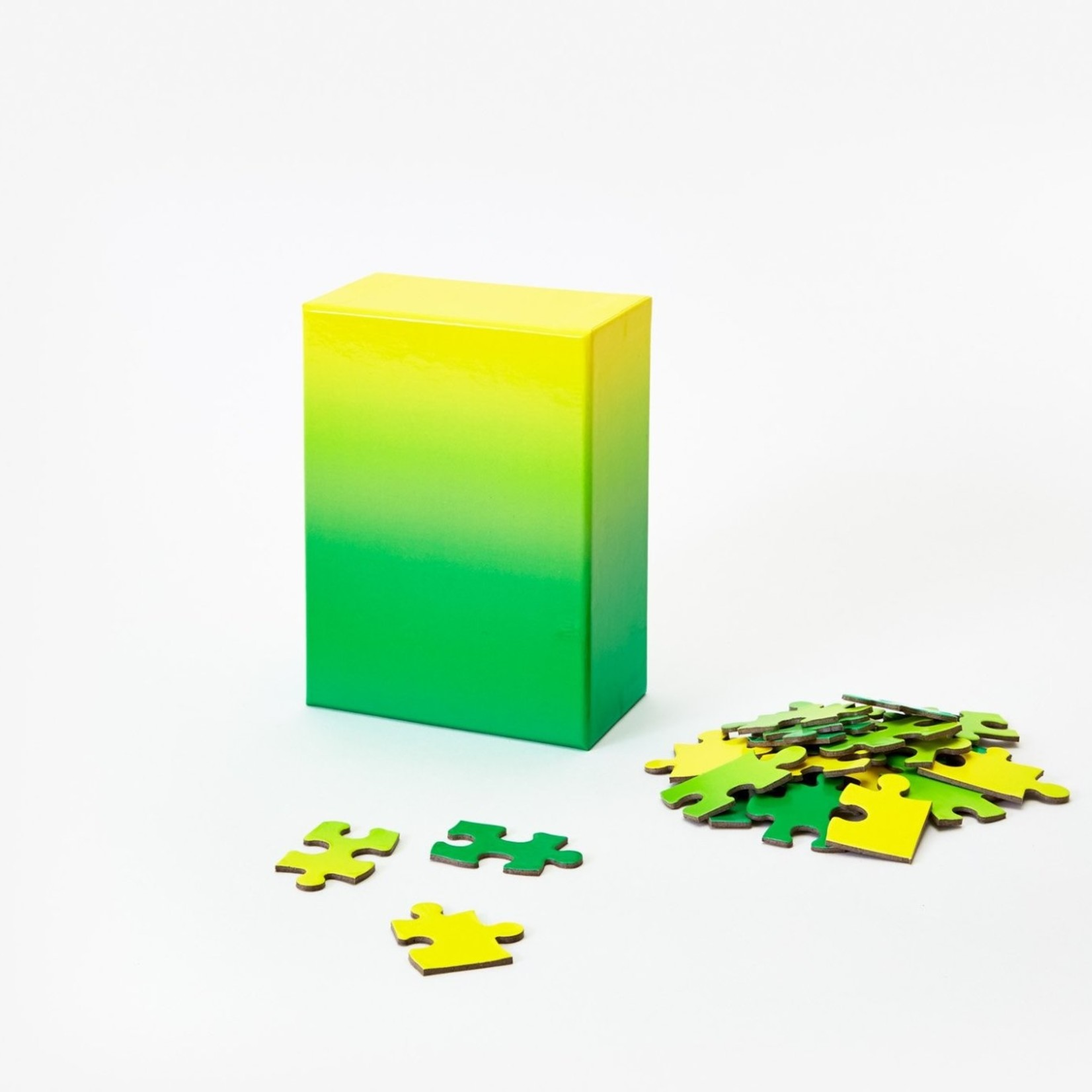 Areaware Areaware Gradient Puzzle Small Green/Yellow