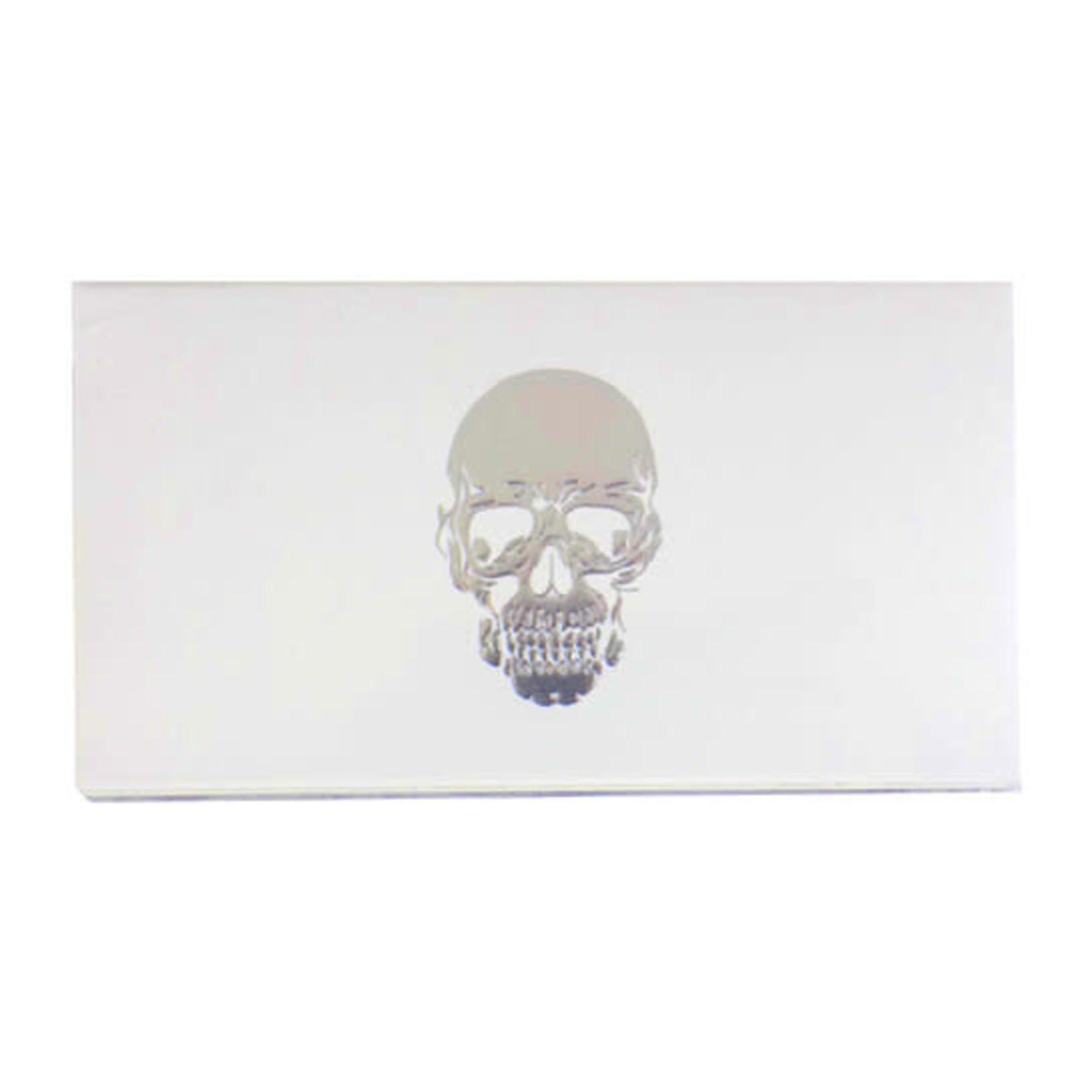 The Joy of Light Joy of Light Matchbook Skull White