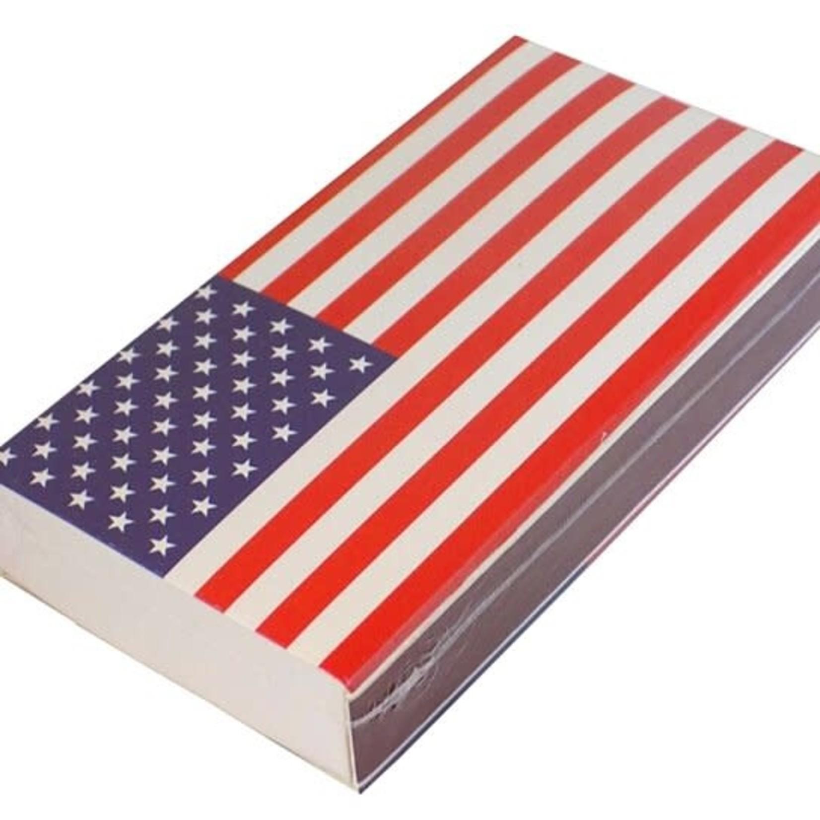 The Joy of Light Joy of Light Matchbook American Flag