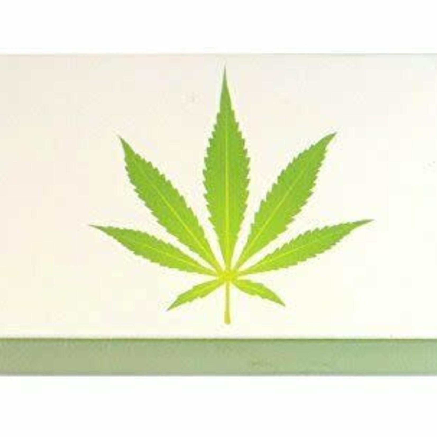 The Joy of Light Joy of Light Matchbook Marijuana Leaf