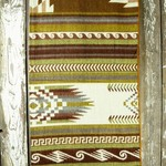 Heartprint Threads Blanket Queen Copper Beauty