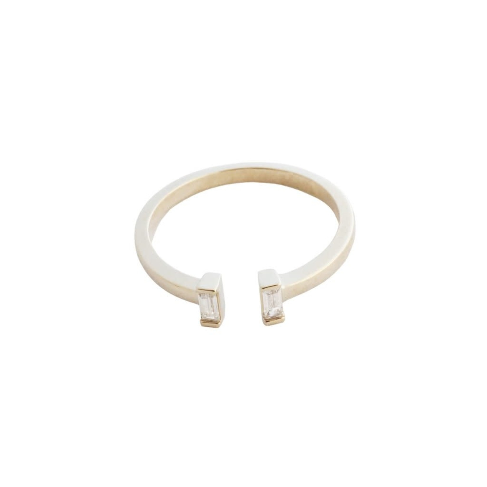 Honeycat Jewelry Honeycat Stevie Baguette Ring