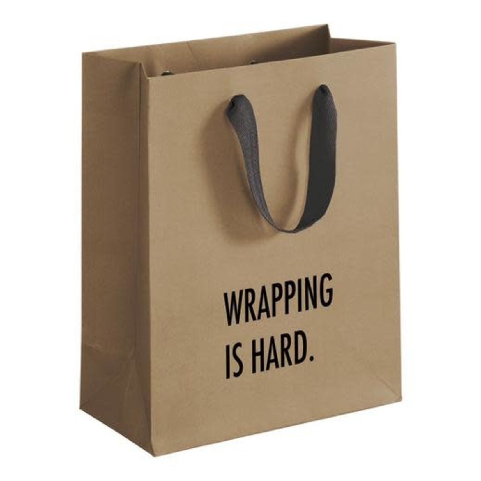 Pretty Alright Gift Bag Wrapping Hard - Medium