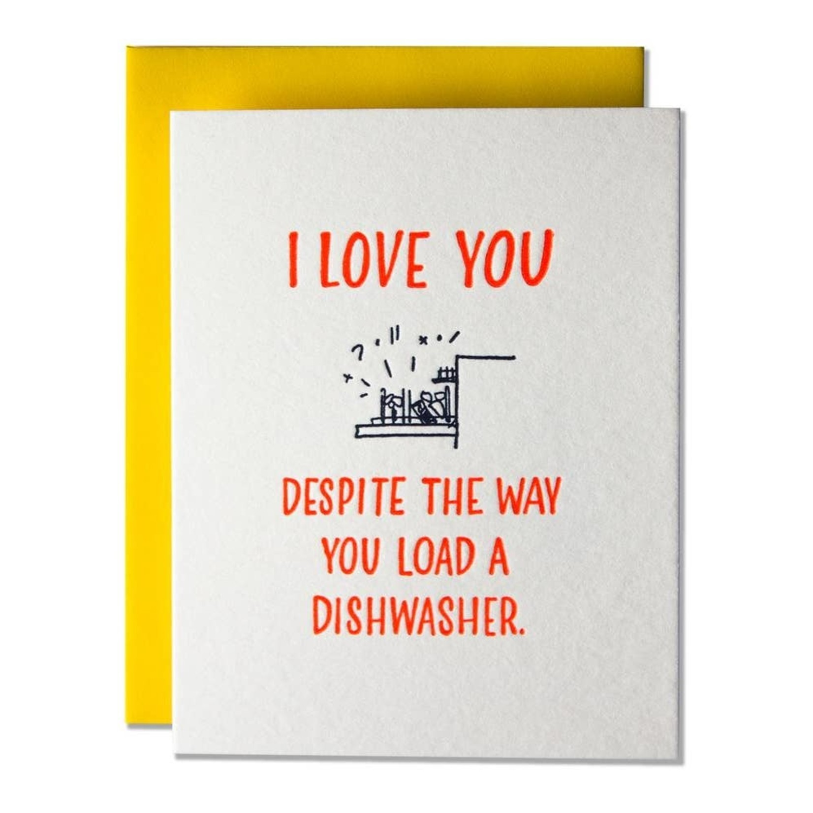 Ladyfingers Letterpress Ladyfingers Load A Dishwasher