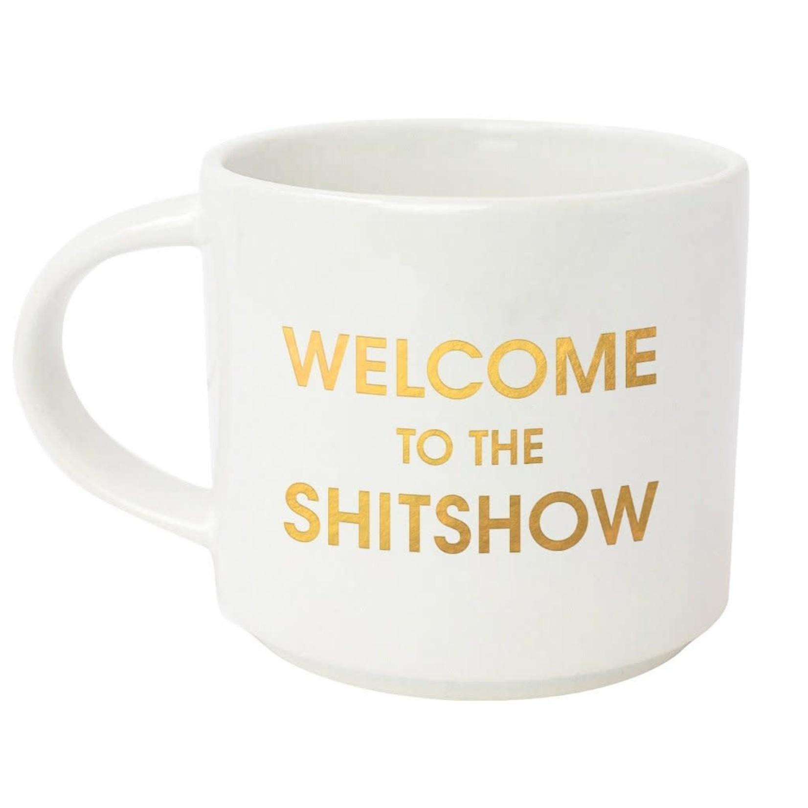 Chez Gagne Chez Gagne Welcome to the Shitshow Jumbo Stackable Mug
