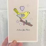 Rosie Wonders Yellow Bird Mom