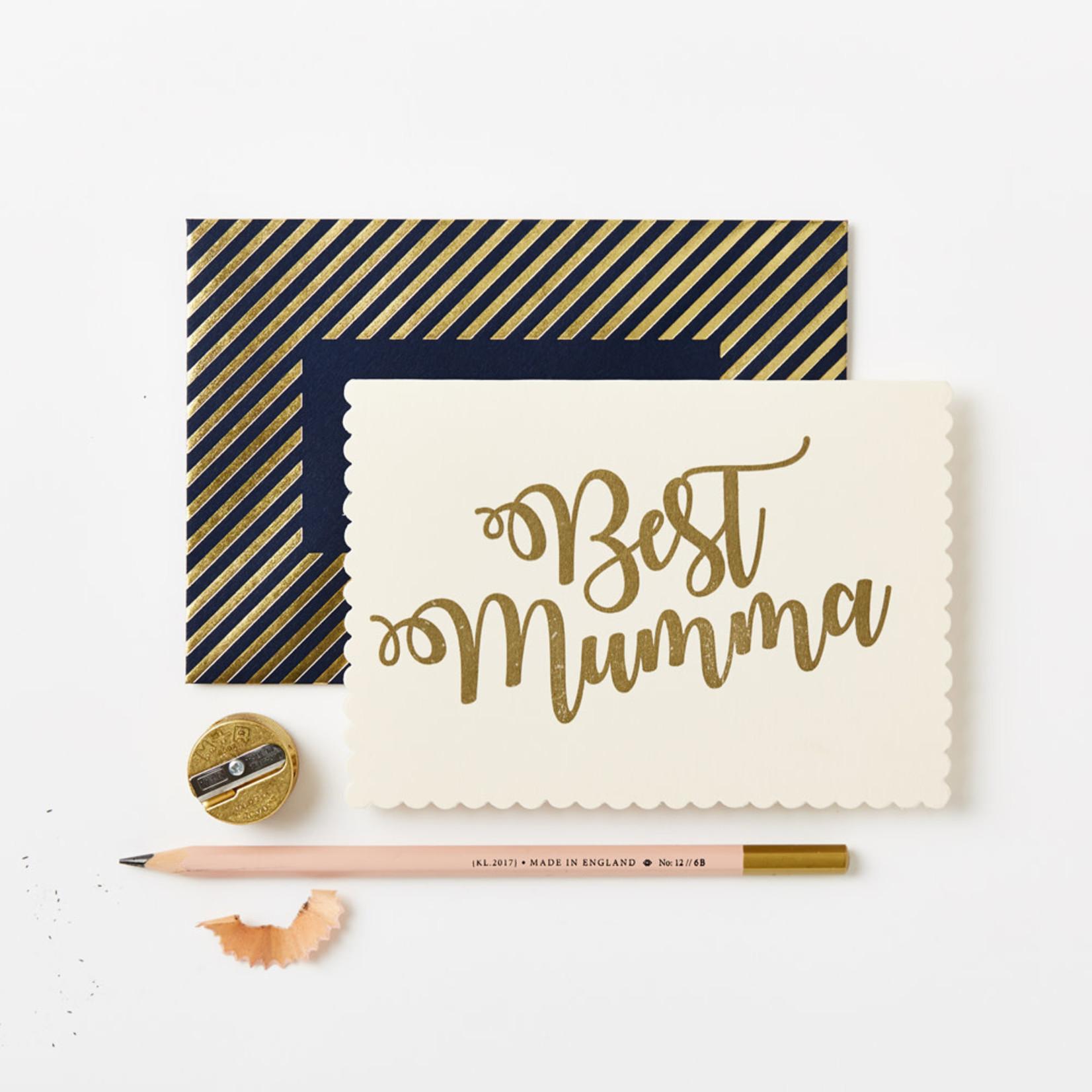 Katie Leamon Mother's Day Gold Best Mumma