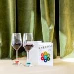 Graf & Lantz Graf & Lantz Wine-Ote's Cheers Felt Wine Marker Note Card
