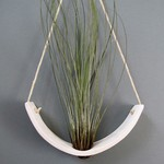 Mudpuppy Mudpuppy Hanging Planter White Earthenware Large